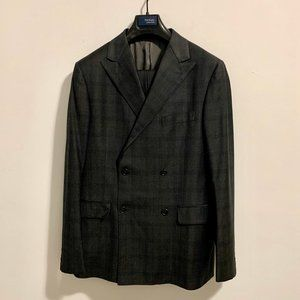 Hickey Freeman Double Breasted Suit